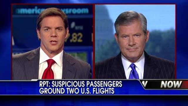 RPT: Suspicious Passengers Ground 2 U.S. Flights