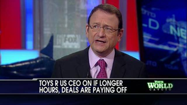 WATCH: Toys R Us CEO Jerry Storch Reveals Hottest Toys of the Holiday Season, Discusses 24/7 Store Hours
