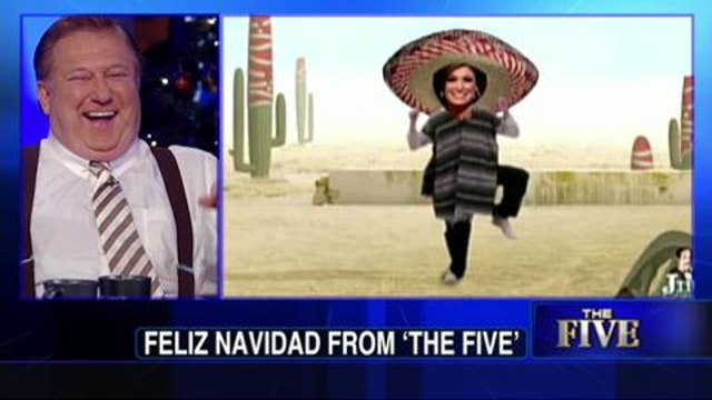 HILARIOUS VIDEO: 'The Five' Gets a Laugh Out of Fan's Jib Jab Video That Turns Co-Hosts Into a Festive Mariachi Band