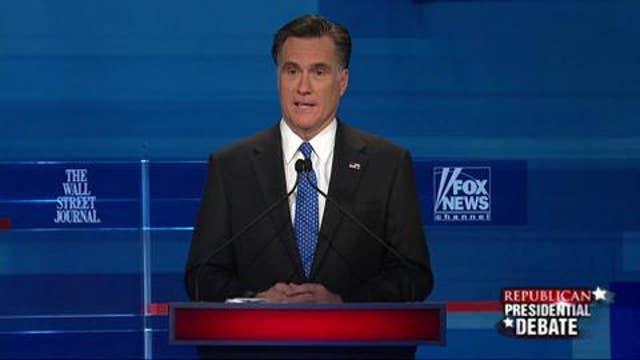 Romney Addresses Bain