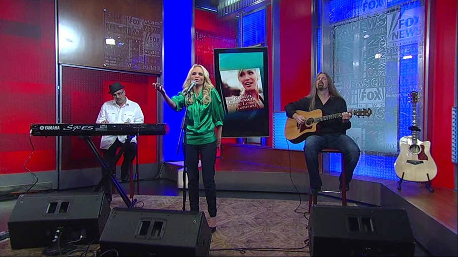 """Kristen Chenoweth Performs New Song """"Fathers and Daughters"""" From New Album Some Lessons Learned"""