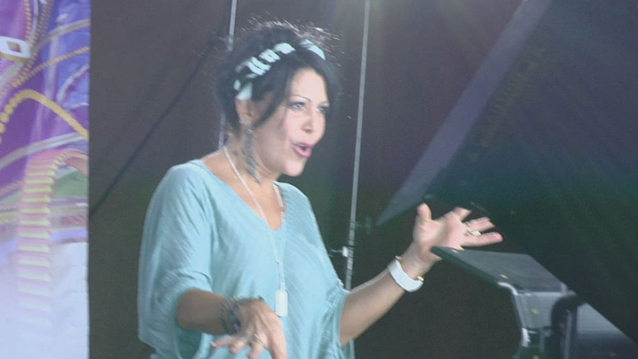 Fox News Latino Backstage at the Latin Grammy