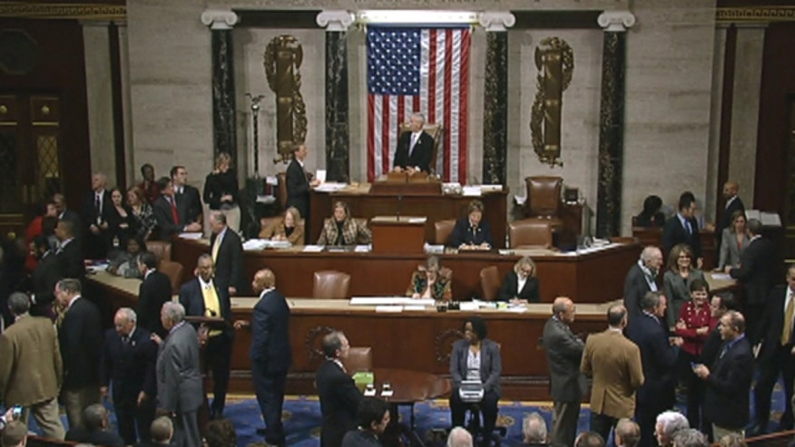 Bill passes with house vote of 257 to 167