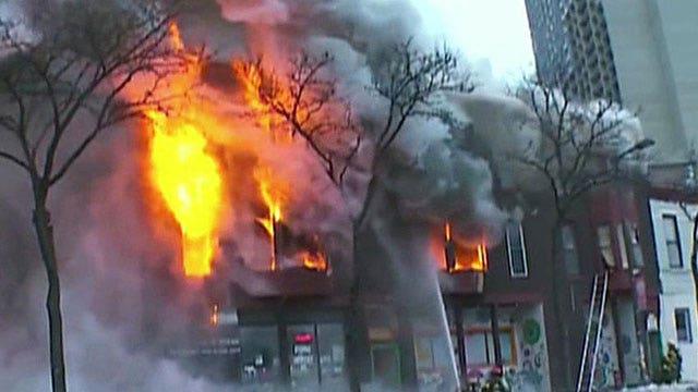 Explosion rocks building in Minneapolis