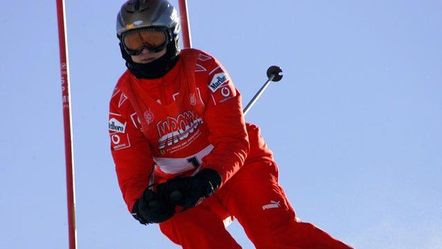 Did a ski helmet save Michael Schumacher's life?