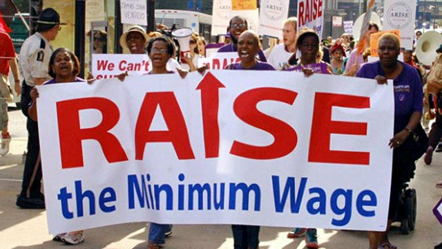 Poll: 66% of Americans support minimum wage increase
