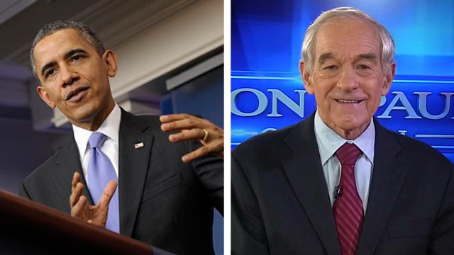 Ron Paul on ObamaCare: 'It's all a tax'