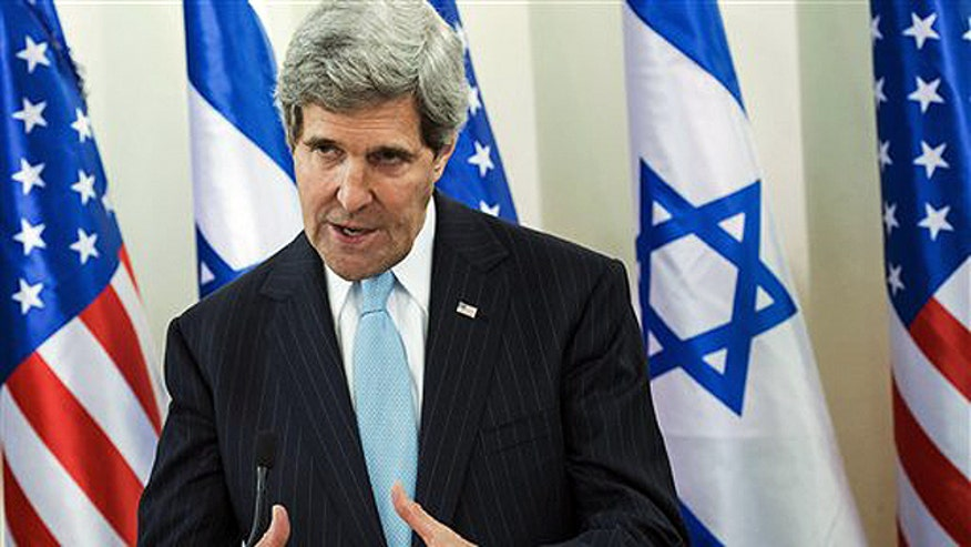 Secretary of state in Israel for new round of peace talks