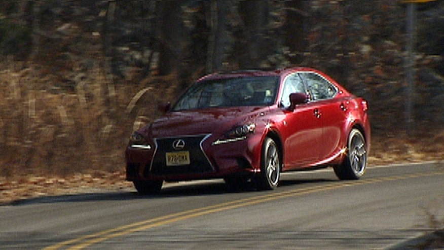 Fox Car Report drives the 2014 Lexus IS350