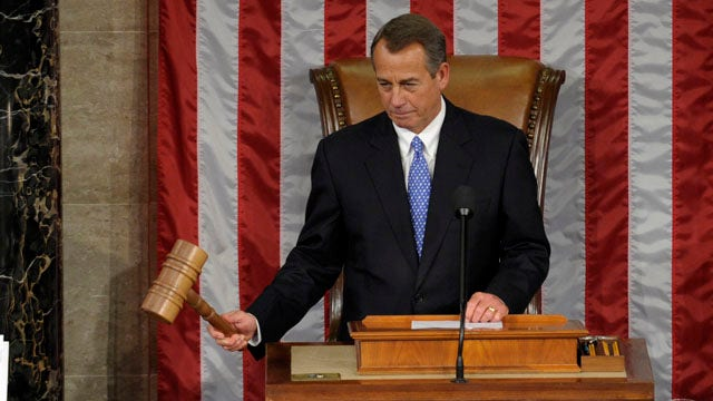 Boehner to keep his gavel for two more years