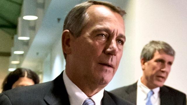 Speaker Boehner blamed for lack of help for Sandy victims?