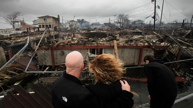 Who's to blame on slow progress with Sandy relief bill?
