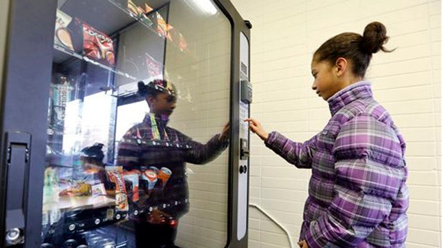 ObamaCare mandate taking a bite out of vending machines