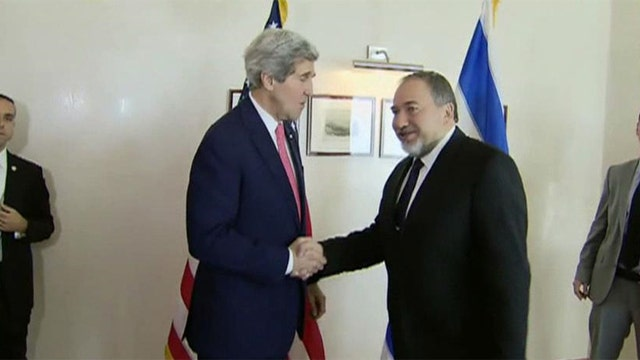 Secretary Kerry in Israel for Middle East peace talks