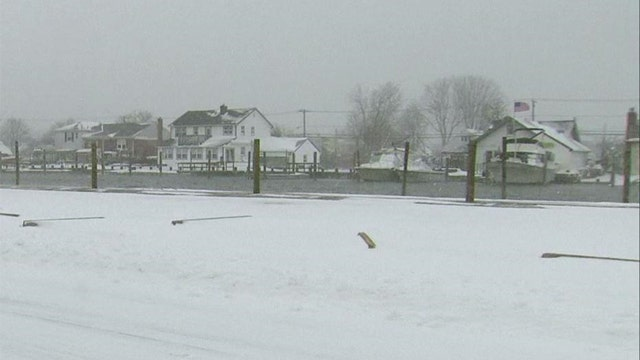Massive winter storm slams Northeast US