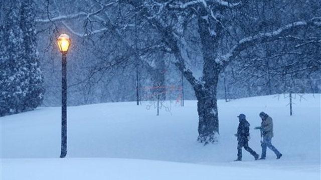 Snowstorm hits Northeast as subzero temps grip Midwest