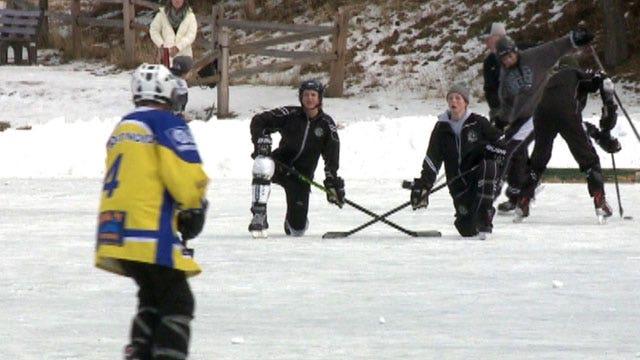 Pond hockey championship comes to Denver