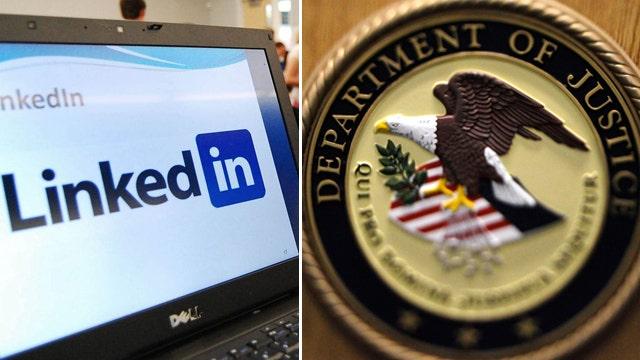 DOJ gets Linkedin on your dime