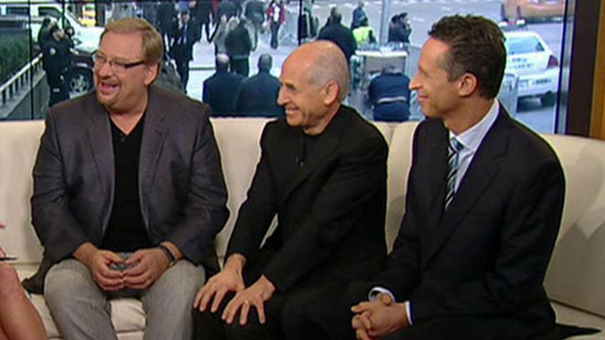 Saddleback pastor on 'Fox & Friends'