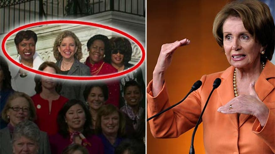 House minority leader's office posts altered picture of female lawmakers
