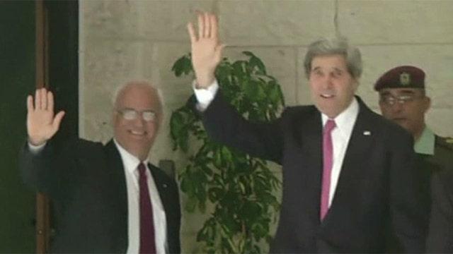 Peace talks continue between Israeli and Palestinian leaders