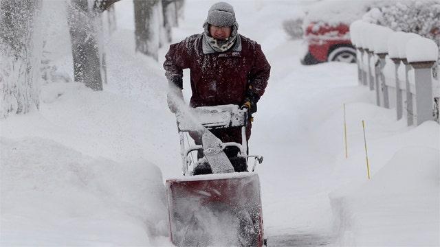Nation prepares for a deep freeze