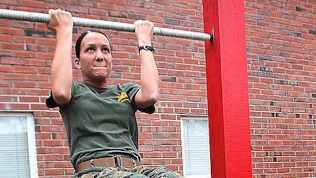 Marines delay female fitness plan after half fail test