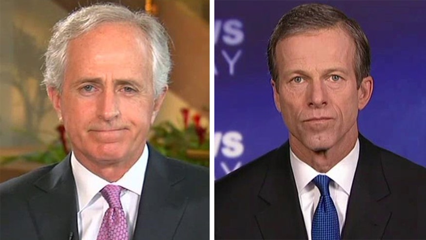 Insight from key Republican Sens. Bob Corker and John Thune