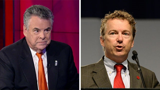 Rep Peter King reacts to plan to sue Obama over NSA spying
