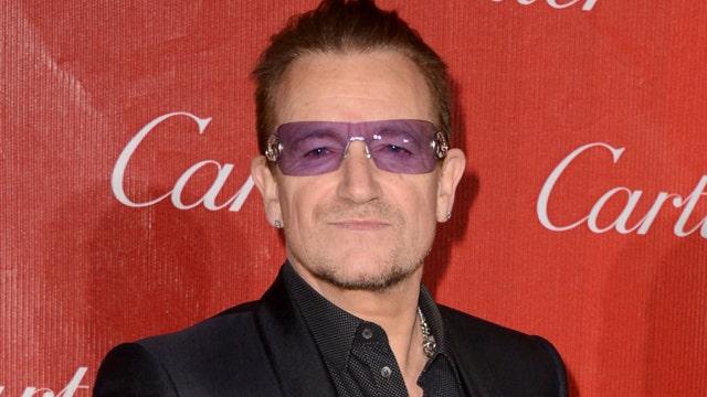 Bono: 'Thank you, America'