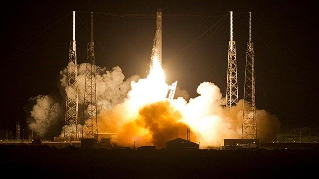 SpaceX counting down to second launch with Falcon 9 rocket