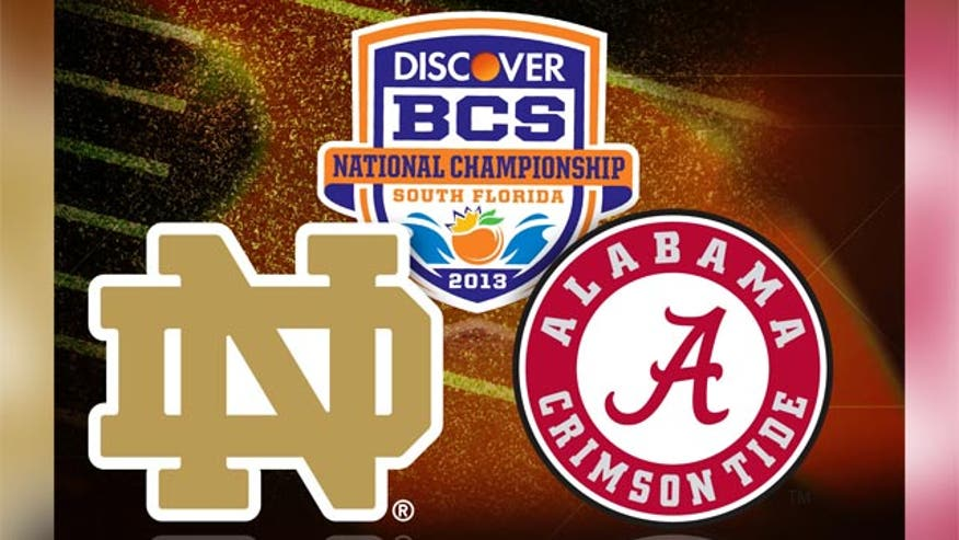 Teams face off for BCS National Championship