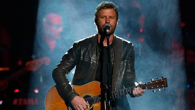 In the studio with Dierks Bentley
