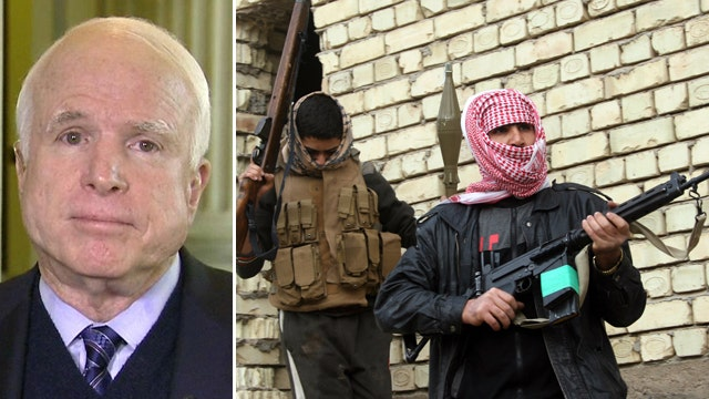 McCain on Al Qaeda's resurgence in Iraq: 'We saw it coming'