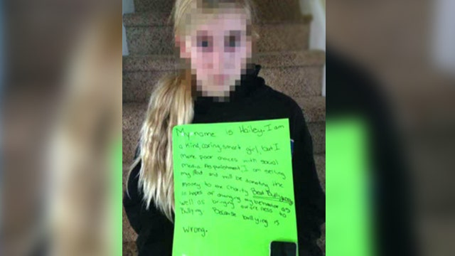 Mom cyber-shames daughter for being a bully
