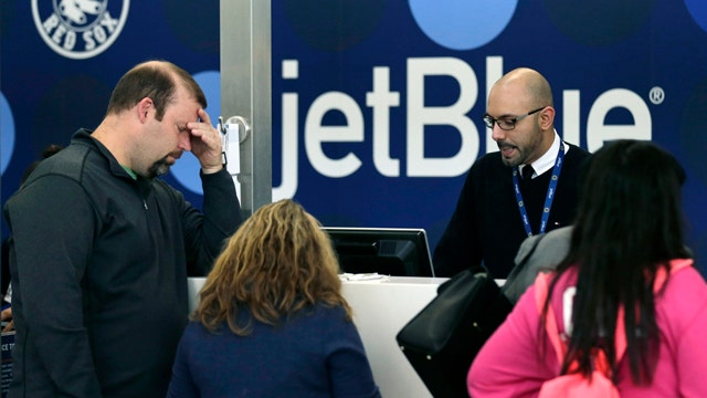 JetBlue cancels all flights from NYC to Boston