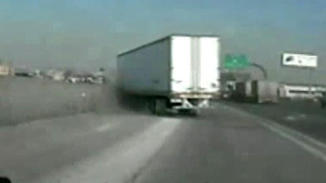 Big rig crash in Utah