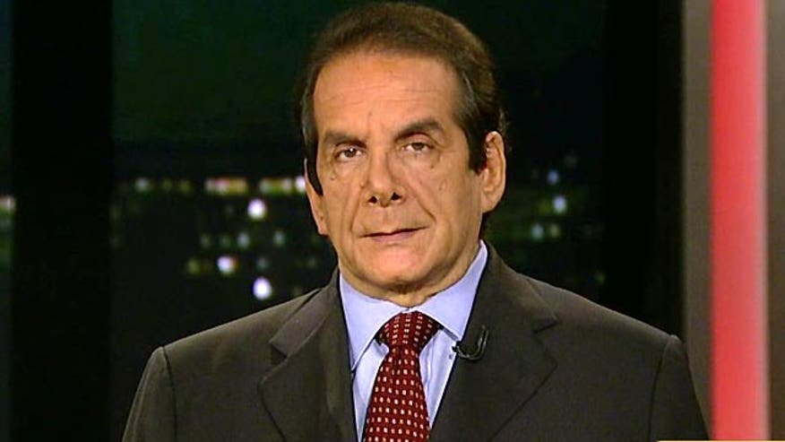 Syndicated columnist Charles Krauthammer said Tuesday on 'Special Report with Bret Baier' that former Obama Defense Secretary Robert Gates' revelation in his new memoir that his commander-in-chief didn't believe in the war in Afghanistan was shocking.