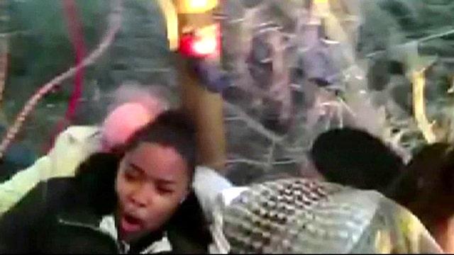 Hot air balloon wedding ends in crash landing