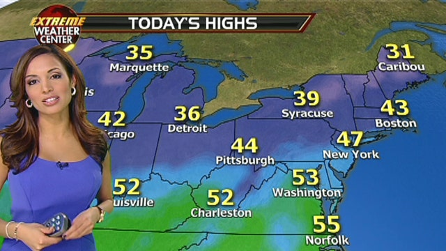 Fox Northeastern Weather Forecast: 1/8