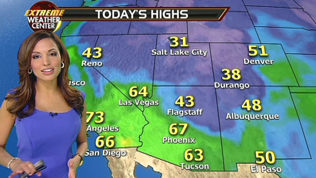 Fox Southwest/Central Weather Forecast: 1/8