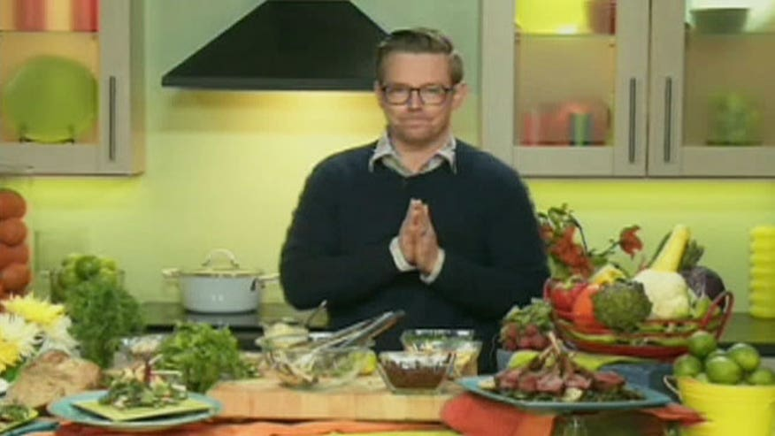 Chef Richard Blais offers tips on eating right and losing weight