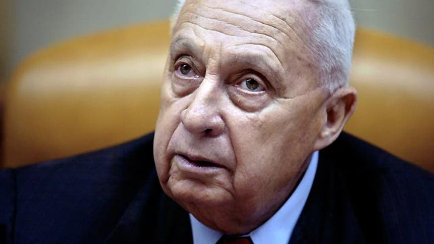 Hospital says former Israeli prime minister's health is declining