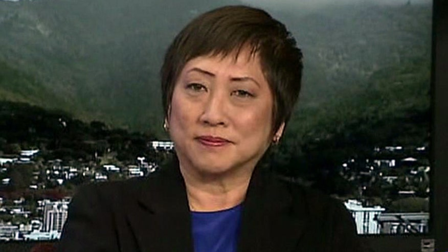 Congresswoman Colleen Hanabusa (D-HI) defends the 'Aloha State'