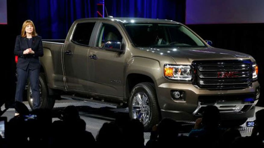 GM Executive Vice President of Global Product Development Mark Reuss introduces the 2015 GMC Canyon