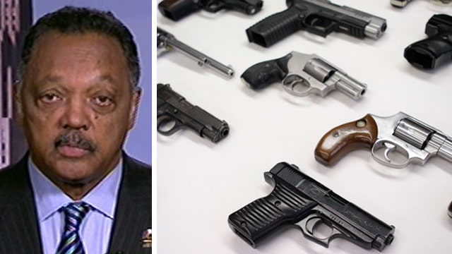 Rev. Jackson: More guns make us less safe