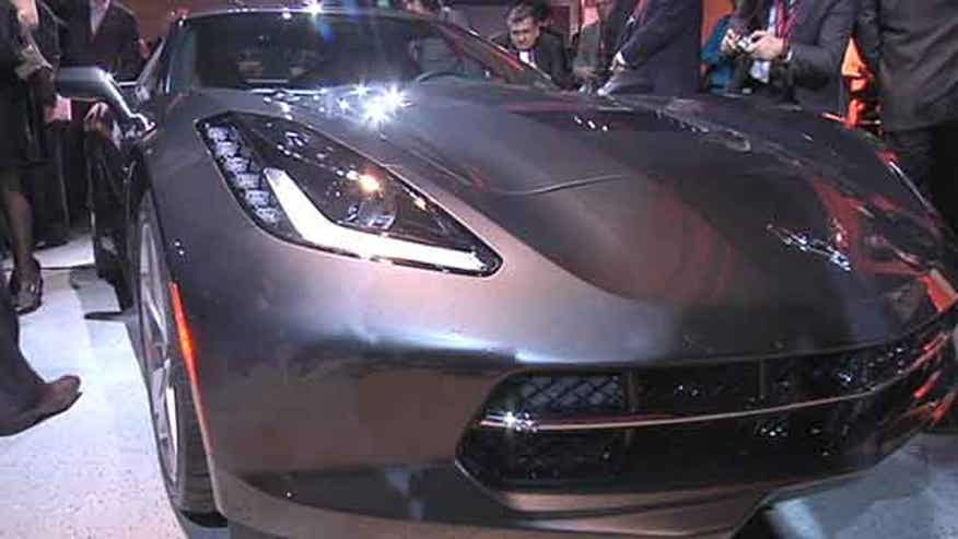Chevrolet introduces the 2014 Corvette Stingray