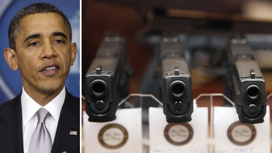 President vows to 'vigorously pursue' gun control, prepares to release proposals