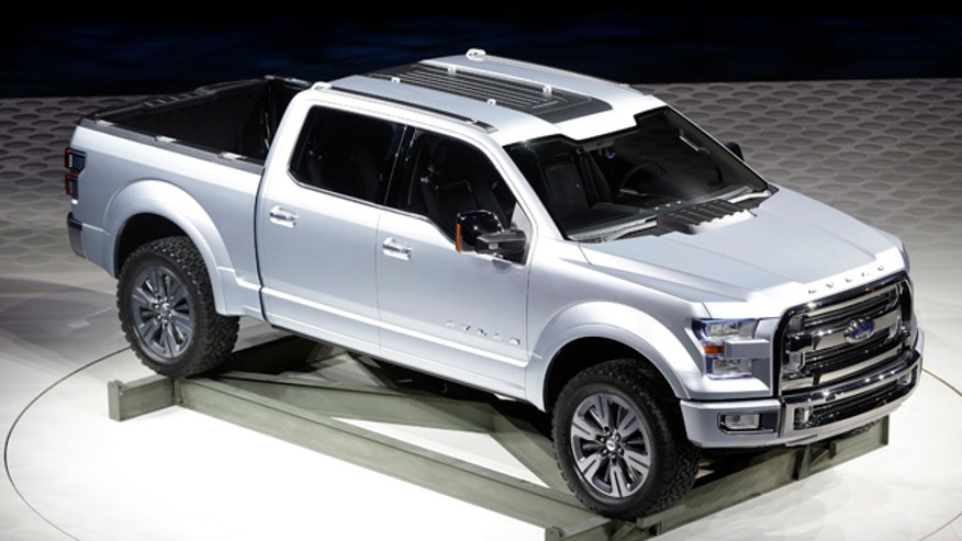 Ford truck marketing chief Doug Scott previews the Ford Atlas pickup truck concept