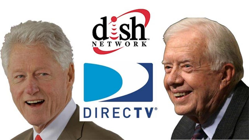 Report: Cable bills for Clinton, Carter